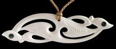 Maori Bone Carving Manaia