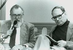 Sergio Leone (left) and Ennio Morricone (right) together redefined the Western.