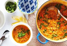 Soup: 7 hearty winter recipes - Today's Parent - 7 Great Soups (That Coconut Lentil one is the bomb! Coconut Lentil Soup, Red Lentil Soup, Coconut Curry, Coconut Milk, Coconut Recipes, Vegan Recipes, Cooking Recipes, Soup And Sandwich, Sandwich Recipes