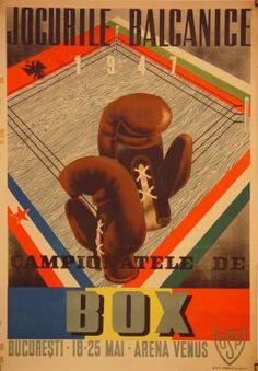 1947 Box, Romania vintage sport poster Vintage Box, Vintage Sport, Romanian People, Thing 1, Love Posters, Vintage Travel Posters, Venus, Graphic Art, Tourism