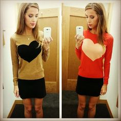 http://instagram.com/leighannsays  Love both tops!