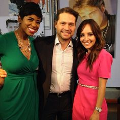 Having too much fun talking #90120, his character #brandonwalsh #21jumpstreet & more Hollywood scoop with #jasonpriestly on #newyorklivetv