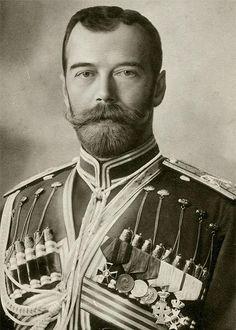 Nicholas II in the uniform of a Cossack.