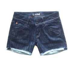 H U D S O N  Jean Shorts H U D S O N  Jean Shorts; perfect condition dark wash with hemmed edges. Amazing fit as you would expect from this brand. 99% cotton 1% elastan; very soft and lightweight. Hudson Jeans Shorts Jean Shorts
