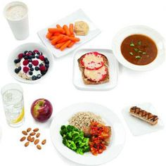 What Does a 1,500-Calorie-Day Look Like?  Create your own 1,500-calorie day with these healthy, satisfying meals to help you lose weight.
