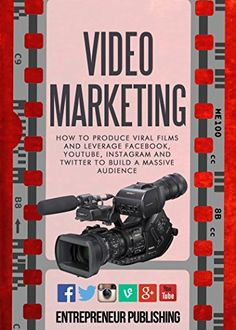 Video Marketing: How To Produce Viral Films And Leverage Facebook, YouTube, Instagram And Twitter To Build A Massive Audience (Content Strategy, Video Marketing, Viral Marketing) by Entrepreneur Publishing http://smile.amazon.com/dp/B00VSQP4UG/ref=cm_sw_r_pi_dp_JGxOwb0DPTWSE -  If you are looking for new ways to drive traffic to your business, this is the book for you. It may be you want an understanding on how the video marketplace works, and how to improve your current business processes.