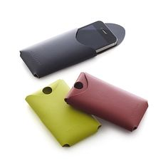 Leather Phone Covers I Crate and Barrel | $5