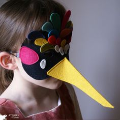 Cool bird mask