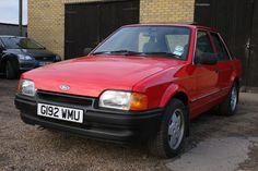 eBay: ESCORT 1.6 GL 58,000 MILES, BARN FIND, TIME WARP,IMACULATE #classiccars #cars