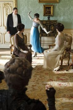 lady sybil shocks the family! (now go watch Downton Abbey!)