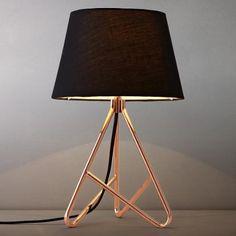Buy John Lewis Albus Twisted Table Lamp | John Lewis