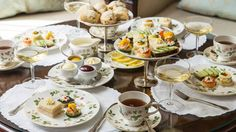 The Windsor Court Hotel in New Orleans began holding afternoon tea in 1984. A representative says the hotel held daily afternoon tea times until Hurricane Katrina struck in 2005. It still serves afternoon tea a few days a week.