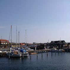 Hundested Havn in Hundested, Region Sjælland