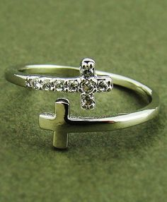 Double cross ring... LOVE THIS!!!