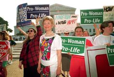 Phyllis Schlafly at a rally at the U.S. Supreme Court. newyorker.com