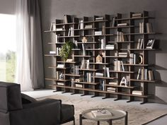 Fantastiche immagini su librerie a parete nel drywall