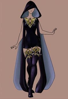 Fashion Adoptable Auction 57 - OPEN by Karijn-s-Basement on DeviantArt outfit Dress Drawing, Drawing Clothes, Anime Dress, Fantasy Dress, Fashion Art, Fashion Design, Anime Outfits, Character Outfits, Fashion Sketches