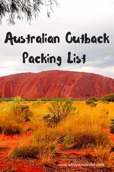 What to pack for Australian Outback Perth, Brisbane, Melbourne, Sydney, Australia Travel Guide, Visit Australia, Australia Holidays, Australia Trip, Travel Guides