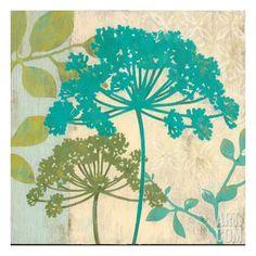 Modern Queen's Lace Giclee Print by Stefania Ferri at Art.com