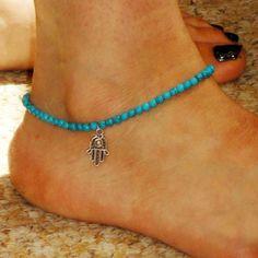 Boho Bead Anklet  #40percentoff #gypsygirl #fashion #blackfriday #beautiful #bohostyle #christmasgifts