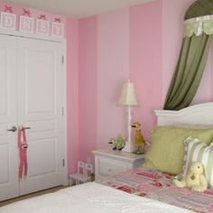 Paint Ideas For A Girls Room Design, Pictures, Remodel, Decor and Ideas