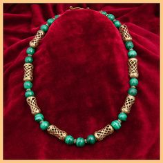 Malachite African marble from Zaire...beautiful by GlobalBeadFinds