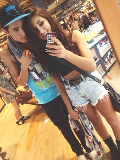 Kian Lawley and Andrea Russet