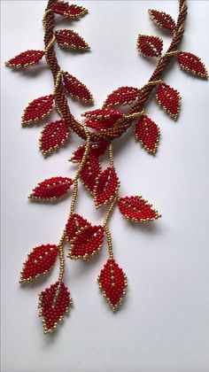I uploaded by Ivona Suchmannova. No other details available - DIY Schmuck Beading Tutorials, Beading Patterns, Beading Projects, Bead Jewellery, Seed Bead Jewelry, Bead Embroidery Jewelry, Beaded Embroidery, Bead Crafts, Jewelry Crafts