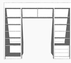 inbouwkast Wouter Mikkers v1-4 Bunk Beds, Loft, Furniture, Home Decor, Interiors, Projects, Lofts, Double Bunk Beds, Interior Design