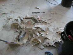 How To Scrape Off Linoleum Flooring - Home Improvement Tips