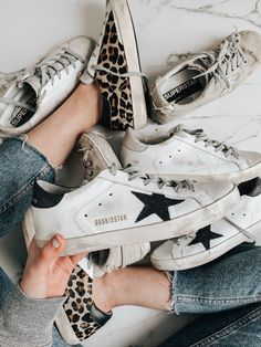 Are Golden Goose Sneakers Worth The Price? Plus The Best Dupes Golden Goose Sneakers are a cult favorite. The real question is: are Golden Goose Sneakers worth the price? We're here to tell you the answer. Baskets Golden Goose, Sneakers Fashion, Fashion Shoes, Fashion Outfits, Fashion Clothes, Womens Fashion, Most Comfortable Sneakers, Mode Shoes, Cute Sneakers