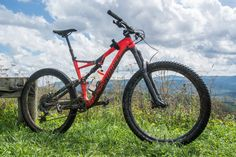 2017 Specialized Stumpjumper Carbon Expert 650B mountain bike