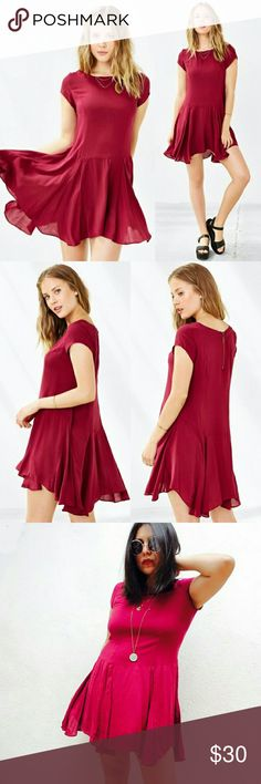 Urban Outfitters Cooperative flowy tunic minidress Urban Outfitters Cooperative trapeze flowy tunic mini dress. Size small. Raspberry combo.  Love the color and fabric is soft as a cloud: It is soooo comfy, yet super cute. It comes a tad longer at back and has an asymmetrical hem.  I wore this once. Like new condition.  No trades Cool discounts on bundles   UO zara brandy topshop melville UrbanOutfitters mango anthropologie free people Urban Outfitters Dresses