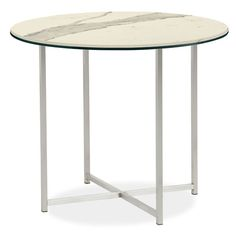 Room & Board - Classic End Tables in Stainless Steel - Modern End Tables - Modern Living Room Furniture Room And Board Living Room, Living Room Furniture, Living Room Decor, Modern End Tables, Rug Inspiration, Bedroom Night Stands, Chair And Ottoman, Entryway Decor, House Design