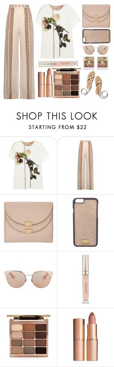"""""""Neutrals"""" by juliehalloran ❤ liked on Polyvore featuring N°21, Jonathan Simkhai, Chloé, Dolce&Gabbana, Christian Dior, Stila, Charlotte Tilbury and Band of Outsiders"""