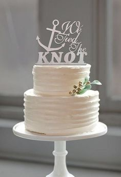 Best 25 Nautical Wedding Cakes Ideas On Pinterest Starfish Nautical Wedding Cake Toppers, Beach Wedding Anchor Cake Topper Tied The Knot Quote For Nautical Wedding Cake Toppers, Nautical Wedding Cake Toppers Best 25 Nautical Wedding Cakes Ideas On Pinterest Starfish, Nautical Wedding Cake Toppers Best...