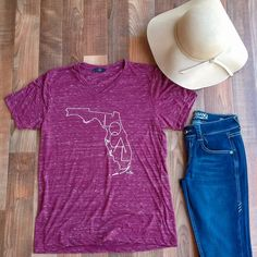 Where are all our Local Florida girls?? 🙋🏻 This garnet marble tee is perfect! It's a loose fitting with short sleeves and a v-neck. Available in small (0-2), medium (6-8), large (10-12). $34 | Shop this product here: http://spreesy.com/shopthelittleblackdress/213 | Shop all of our products at http://spreesy.com/shopthelittleblackdress    | Pinterest selling powered by Spreesy.com