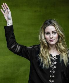 Olivia Palermo for Bulgari's #RaiseYourHand Save the Children Campaign