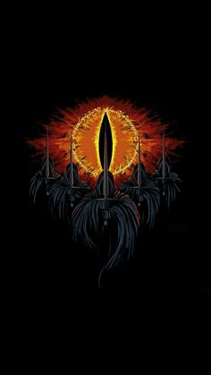 The Eye of Sauron & The 7 Black Riders