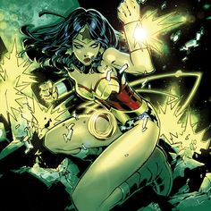 Wonder Woman, art of Chris Bachalo.
