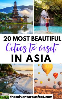 Planning to travel to Asia? Here are the most beautiful cities in Asia to consider| Asia bucket list places |best cities to visit in Asia |best places to visit in Asia |Best places to visit in South East Asia |best Asia travel places to visit |best Asian cities to visit |best Asian cities to travel to |beautiful places in Asia |Bucket list destinations in Asia| travel bucket list destinations Asia| most beautiful places to visit in Asia #bestcitiesinAsia #Asiatravelplaces #theadventurousfeet Most Beautiful Cities, Beautiful Places To Visit, Cool Places To Visit, Places To Travel, Travel Guides, Travel Tips, Travel Articles, Travel Abroad, Travel Goals