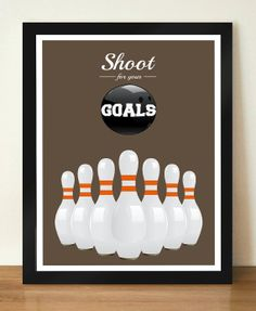 Shoot for Your GOAL Inspirational Motivational by DesignSailors, $8.00