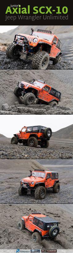 """Junior's Axial SCX-10 """"Jeep Wrangler Unlimited Rubicon"""" @axialrc #scx10 #offroad…"""