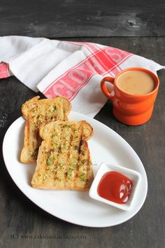 Chili Garlic Toast makes an easy breakfast.