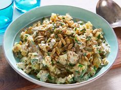 Texas Potato Salad Recipe | Food Republic www.winetastelifestyle.com Great with so many things - but our Cremant de Limoux would be lovely on a hot day!