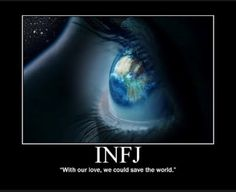 Imagen de save the world and infj