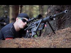 ▶ AIRSOFT SNIPERS CHEYTAC Intervention M200. L96, DRAGUNOV svd - YouTube