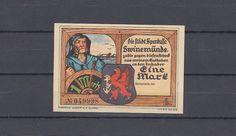 Swinemünde / Pommern , Notgeld , 1 Mark |