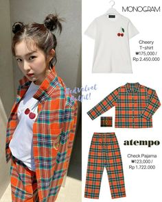 Kpop Outfits, Girl Outfits, Velvet Fashion, Seulgi, Everyday Outfits, Pop Fashion, Kpop Girls, How To Fall Asleep, Red Velvet
