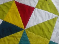 Studio Sew of Course: Baby Quilt for Helena - wave quilting to soften strong graphics
